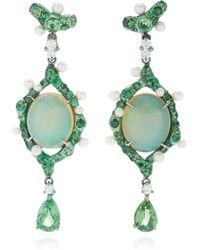 Arunashi - One-of-a-kind Opal Drop Earrings - Lyst