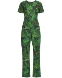 Isolda - Alexa Jungle Night Jumpsuit - Lyst