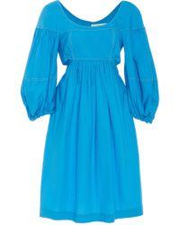 Isa Arfen - Sanremo Cutout Cotton Dress - Lyst