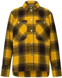 Dorothee Schumacher - Colorful Check Wool Jacket - Lyst