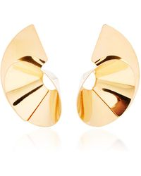 Bia Daidone - Max 24k Gold-plated Earrings - Lyst