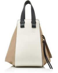 Loewe - Hammock Colour Block Leather Bag - Lyst