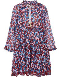 Yvonne S - Cotton Voile Double Mini Hippydress - Lyst