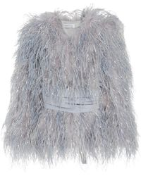 Alice McCALL | Lady Bird Feather Coat | Lyst