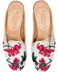 Stubbs & Wootton - Geraniums Flax Mule - Lyst