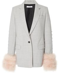 ADEAM - Convertible Tailored Jacket - Lyst