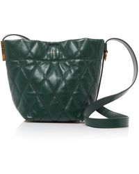 Givenchy - Mini Quilted Leather Bucket Bag - Lyst