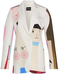 Akris - Wooden Doll Jacket - Lyst