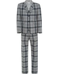 Thom Browne - Tartan Suit With Tie - Lyst