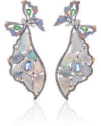 Wendy Yue - Opal Butterfly Earrings - Lyst