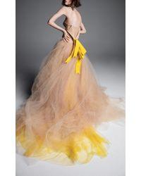 Vera Wang - Verushka A-line Gown - Lyst