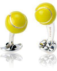 Deakin & Francis - Tennis Ball Cuff Links - Lyst