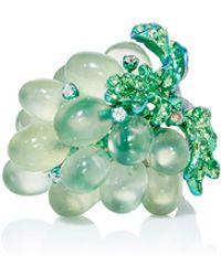 Arunashi - Titanium Prenite Grape Ring - Lyst