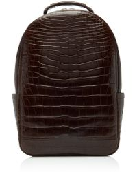 Stalvey - Brighton Alligator Backpack - Lyst
