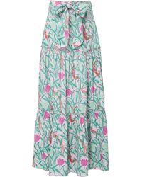 brand: Banjanan Discovery Printed Cotton Maxi Skirt