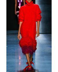 Prabal Gurung - Kyla Feather Pencil Skirt - Lyst