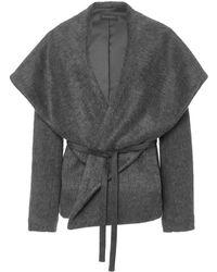 Hensely - Shawl Collar Jacket - Lyst