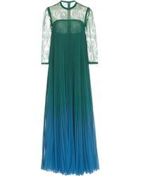 Elie Saab - Long Wide Dress - Lyst