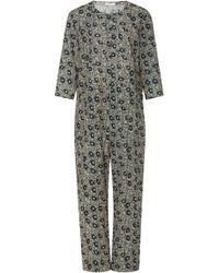 Sea - Lucia Cotton Floral Jumpsuit - Lyst