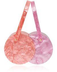 Edie Parker - Acrylic Colorblock Double Shot Bag - Lyst