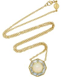 Jamie Wolf - Opal And Aquamarine Pendant Necklace - Lyst