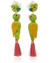 Mercedes Salazar - Multicolor Parrot Earrings - Lyst