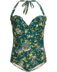 Anna Sui - Mermaids Swimsuit - Lyst