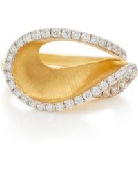 Kavant & Sharart - 18k Gold Diamond Ring - Lyst