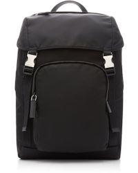 0435d705131f Prada - Tech Shell Backpack - Lyst