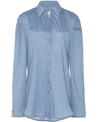 Johanna Ortiz - Debajo Del Mar Button-up Cotton Shirt - Lyst