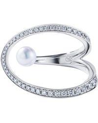 Tasaki - Aurora White Gold Ring - Lyst