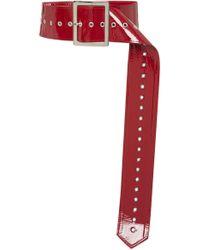 16Arlington - Patent Leather Belt - Lyst