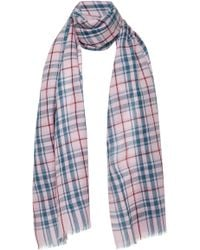 Isabel Marant - Valeria Checked Wool Scarf - Lyst