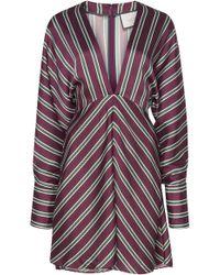 Alexis - Tena Striped Mini Dress - Lyst