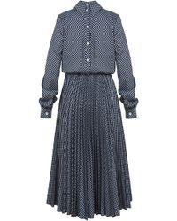 Dalood - Printed Shirt Dress - Lyst