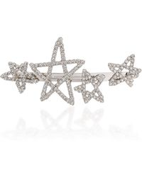 LELET NY - Seeing Stars Rhodium-plated Crystal Barrette - Lyst