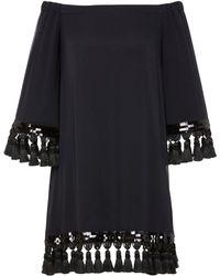 MESTIZA NEW YORK - Cha Cha Tassel Dress - Lyst