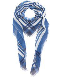 Philosophy Di Lorenzo Serafini - Printed Gauze Headscarf - Lyst