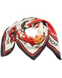 Givenchy - Catwings Silk Scarf - Lyst