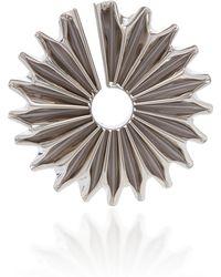 Balmain - Single Metal Flower Earring - Lyst