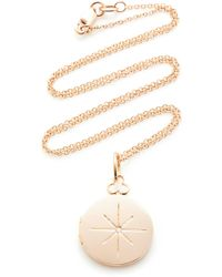 Devon Woodhill - North Star 18k Rose Gold And Diamond Necklace - Lyst
