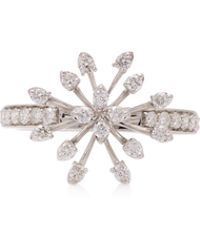 Hueb - Exclusive 18k White Gold And Diamond Ring - Lyst