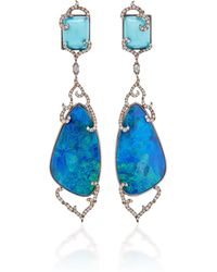Wendy Yue - Opal Drop Earrings - Lyst