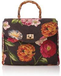 Glorinha Paranagua - Flowers Velvet Rosita Bag - Lyst