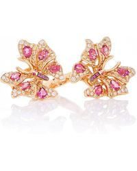Wendy Yue - Sapphire Butterfly Ring - Lyst