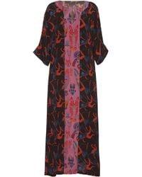Rianna + Nina - Patricia Silk Evening Caftan Dress - Lyst