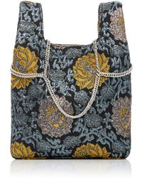 Hayward - Venetian Chain Strap Brocade Mini Shopper - Lyst