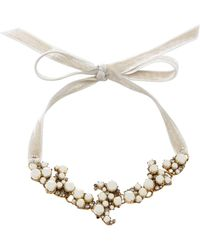 Erickson Beamon | Dancing Queen 24k Gold-plated Crystal And Pearl Necklace | Lyst