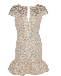 Pascal Millet - Brocade Short Cocktail Dress - Lyst