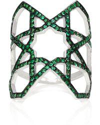 Ralph Masri - M'o Exclusive Arabesque Emerald Ring - Lyst